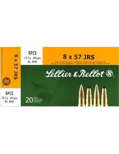 Amunicja kulowa S&B 8x57IRS SPCE 12,7g